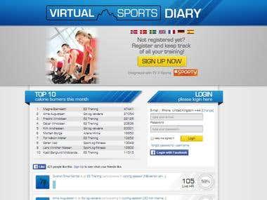 Virtual Sports Diary