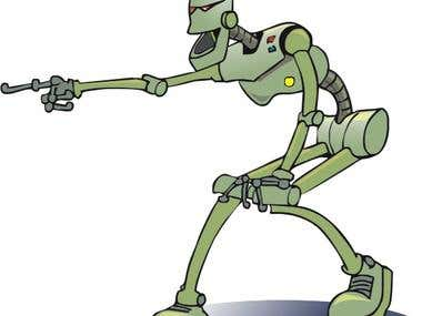 I Robot-ha ha!