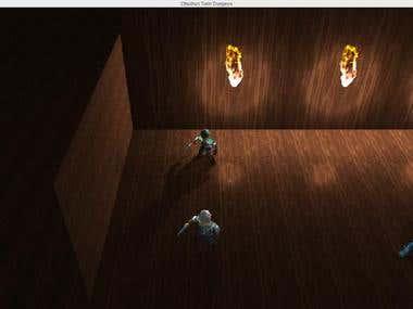 Cthulhu's Train Dungeon (Game Jam)