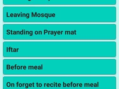 Prayer Time for Muslims