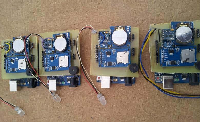 Arduino+RTC+MPU6050+HMC5883l+LM35 data logger   Freelancer