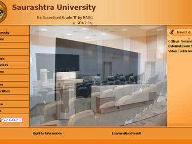 University Management Educational site