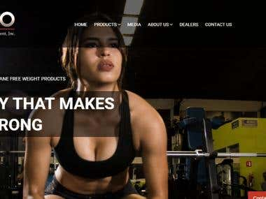 CemcoStrength Online Workput Equipment E-Commerce Store