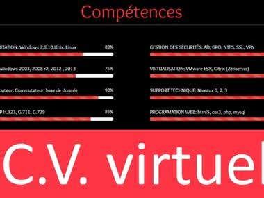 CV virtuel