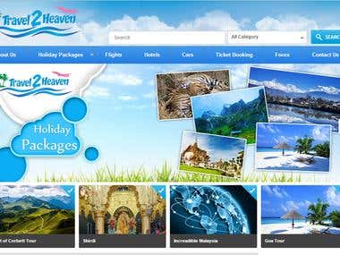 Travel2heaven - Small Size Travel Agent
