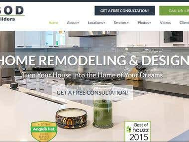 Project Management and Consultation Website: SOD Builders