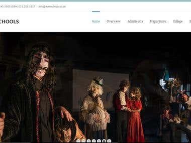 School Informartional Website: Eden Schools