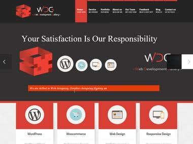 Wordpress Site Redesign.
