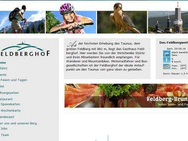 """""""variform.de"""" wordpress website"""