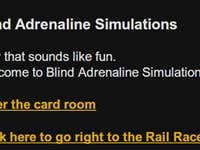 Blind Adrenaline Simulations