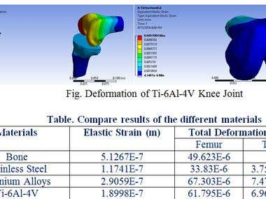 Simulation: KNEE JOINT ANALYSIS