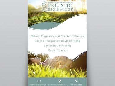 Holistic Beginnings Poster
