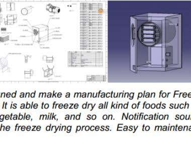 Design: FREEZE DRYER PRODUCT