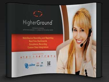 Exhibition Booth Designing for Higher Ground