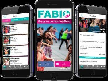 Fabio iOS & Android App