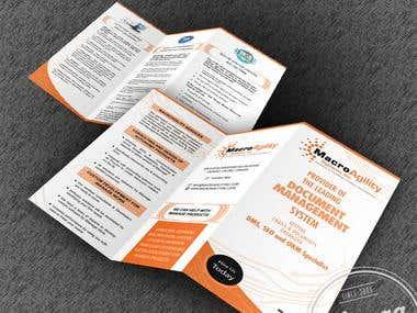 Micro Agility tri-fold Brochure
