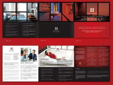 Brochure Designing for RED Home