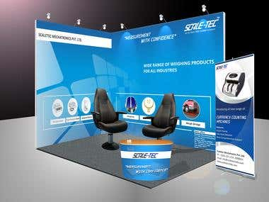 Exhibition Stall for ScaleTec