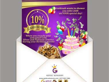 Newsletter for Gold Rush Stores - CA