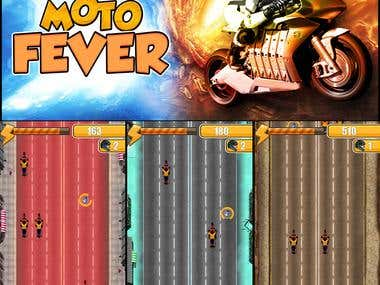 Moto Fever ( Cocos2d-X Game )