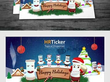 Holiday Postcard Design
