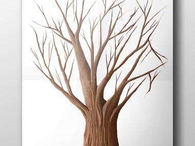 Tree Digital Painting