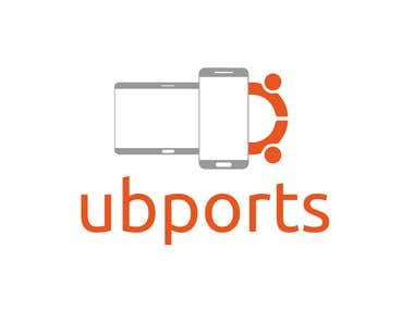 Logo for ubports