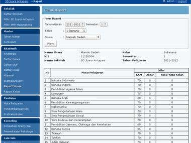 School Information System