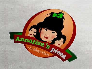 Logo for a pizza specilist