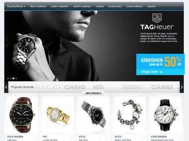 Shopping Buff : E-commerce website design