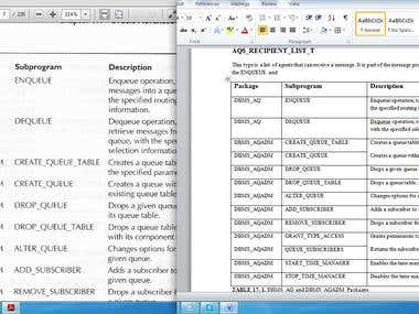 PDF to MS Word Conversion