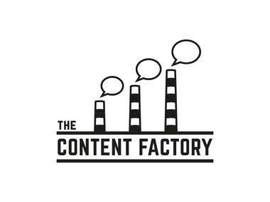 Logotype for Content Factory