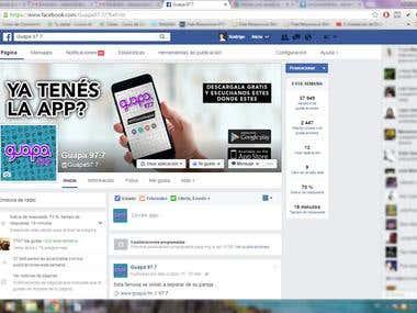 Guapa FM Social Media Marketing