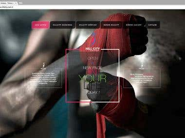 Hill City Fitness Center Website