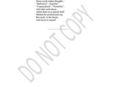 Transcribe Poems