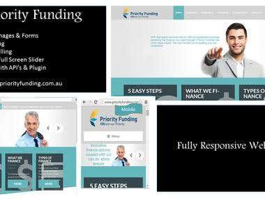 Priority Funding Website, Australia
