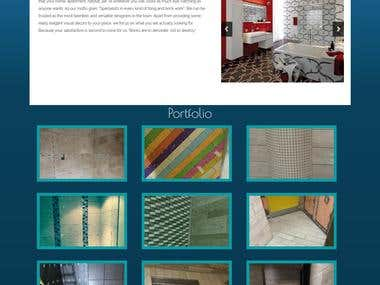 Developed Website and Admin Panel For Wasqaa Tiling Ltd. UK