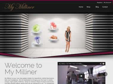 My Milliner Online Shop