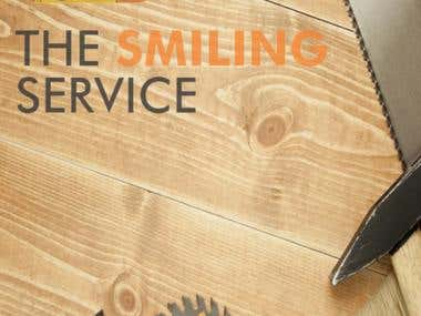 The smiling service - Handyman booking app