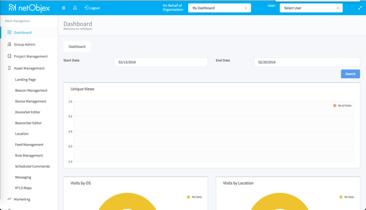 NetObjex Admin Panel & Backend API