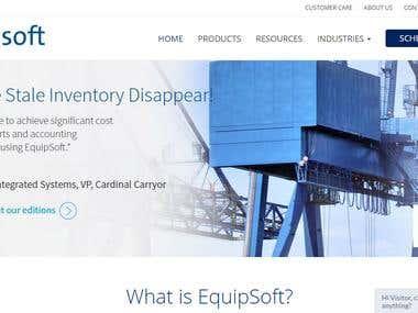 Website equipsoft.com