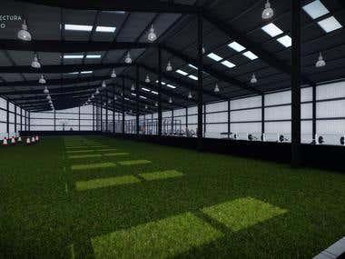 Warehouse Gym Design