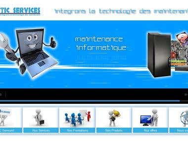 Site web de 2ITIC Services