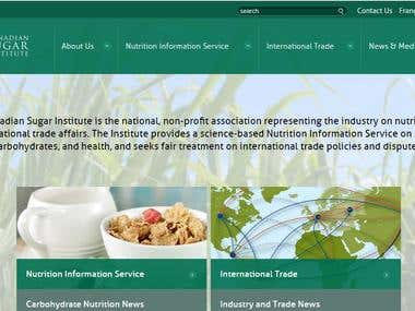 The Canadian Sugar Institute Website