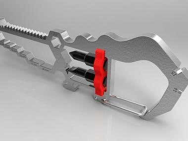 Multitool Alligator Shape