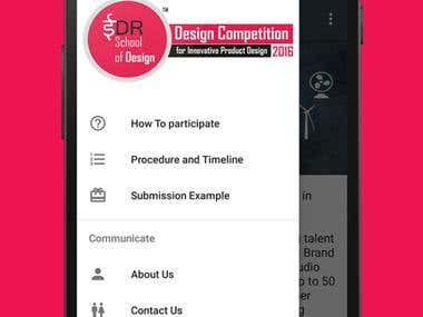 Android app for EDR School of Design