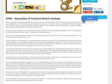 ATMA (Association of Technical Market Analysts) [JOOMLA]