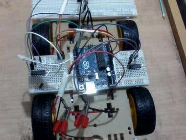 Speed Control of a DC Motor Deployed on a Smart Car