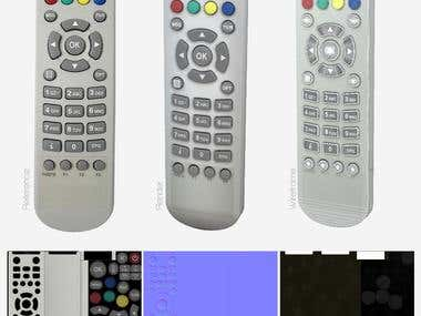 Model of TV Controller