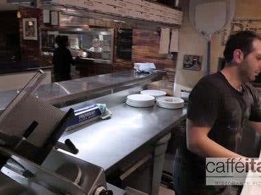 Perth Caffe Italia Social Media Project